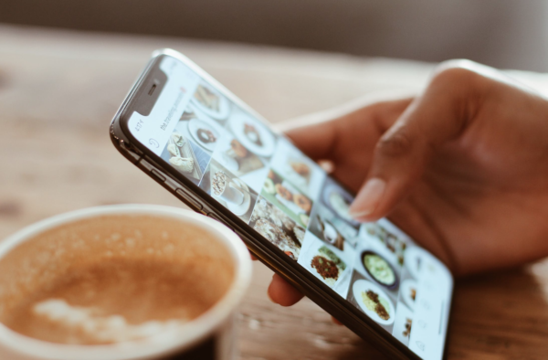Share the essence of your coffee shop on Instagram